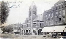 Collingwood Town Hall, c.1890