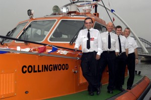 Crew at the launch 05082008